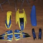 Plastic kit for Husaberg 650