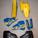 Husaberg 650 original plastic kit