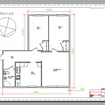 This is a design drawing of mine apartment I'm living in. Every measurement is in correct scale.