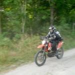 KTM 690 Enduro ridning