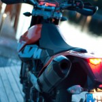 KTM 690 SMC closeup