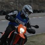 Racing on the rörberg gocart track
