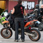 KTM 690 SMC motard racing