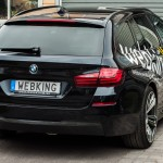 BMW 530d with webking plates