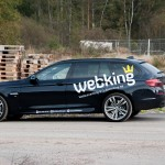 BMW 530d with webking graphics
