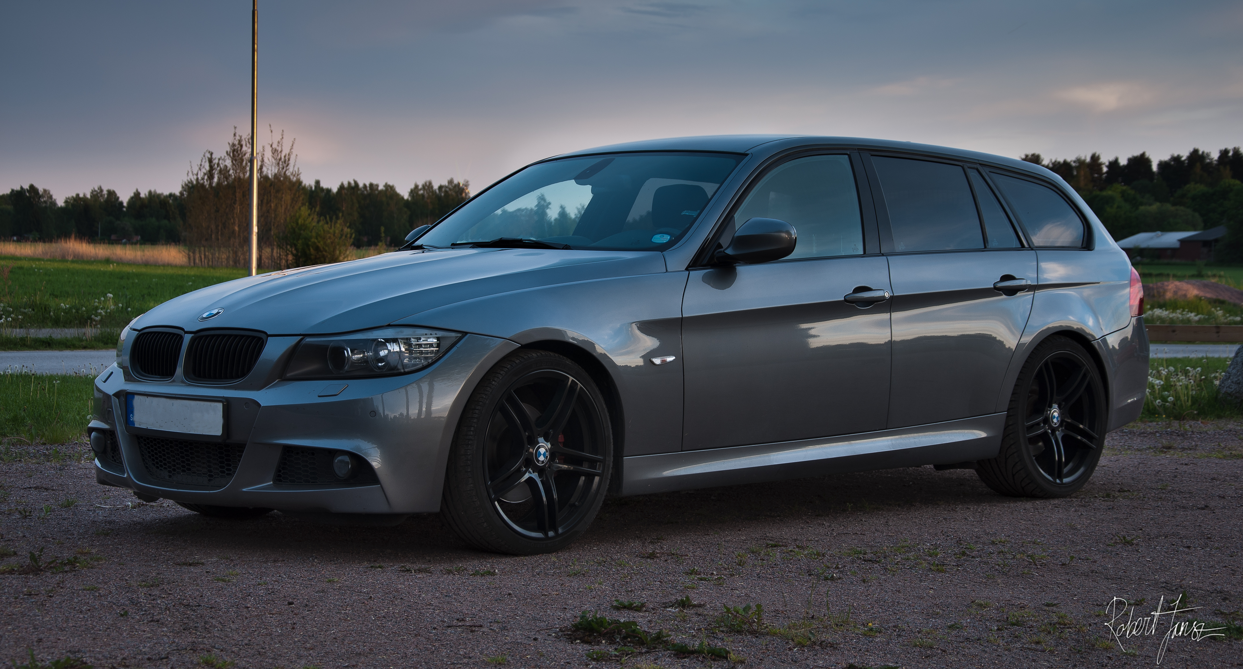 BMW 320 dA M-sport Touring E91 177hk -09