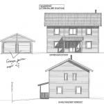 Villa Anneberg blueprint front
