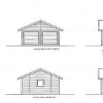 Villa Anneberg blueprint garage