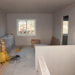 Home cinema room - drywalled