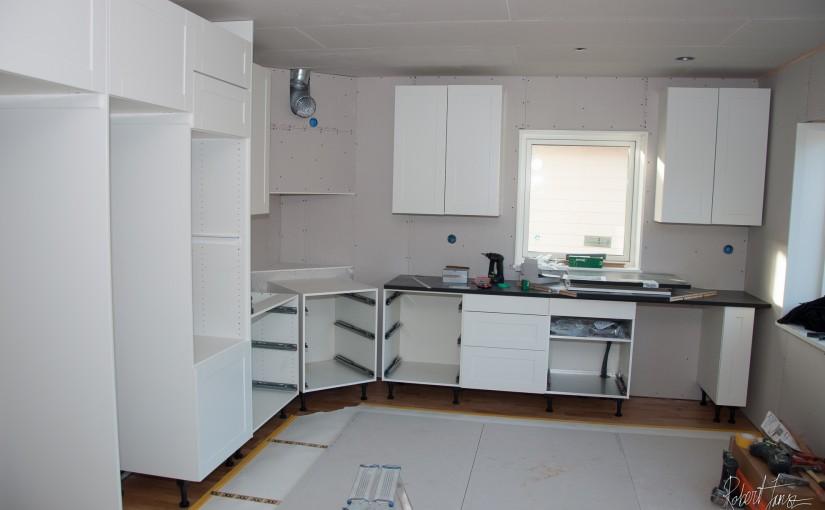 Kitchen framework starting to take place