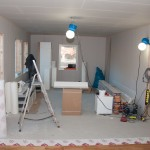 Living room - drywalled