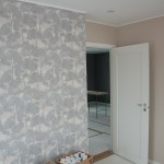 Wall papers finished in Bed room 3