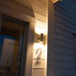 Led light outdoor armature