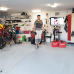 Garage owner and equipment