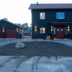 Preparation for pavers completed