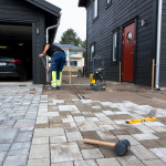 Beginning fixing the fantasi grey paving stone