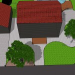 Skech-up concept of pavings
